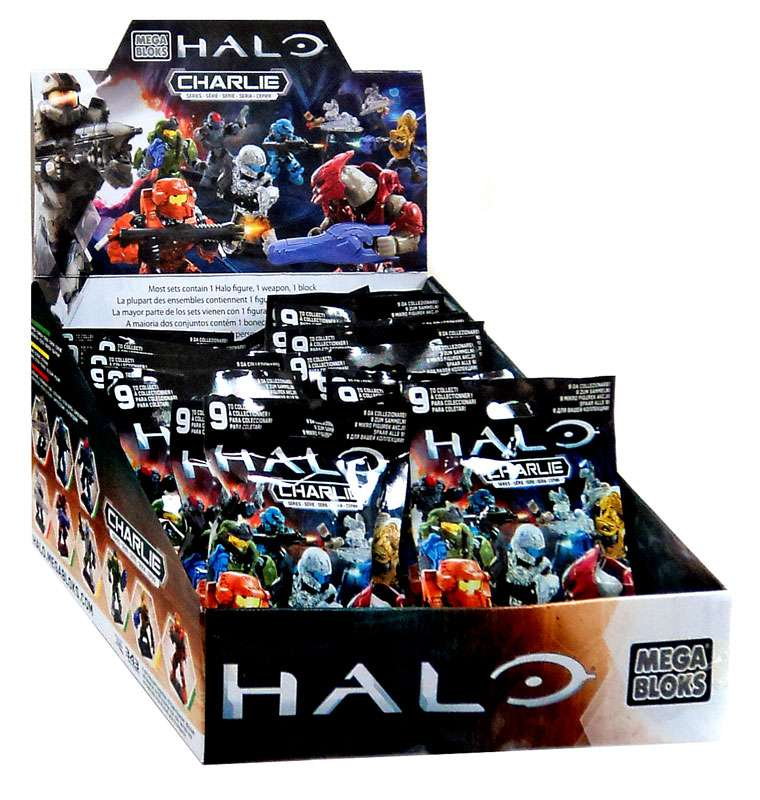 Mega Bloks Halo Halo Charlie Series Mystery Box by