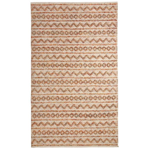 Crescent Drive Rug Company Heirloom Hand-Woven Ivory Area Rug