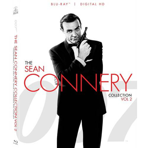 Sean Connery 007 Collection: Volume Two - Thunderball / You Only Live Twice / Diamonds Are Forever (Blu-ray + Digital HD)