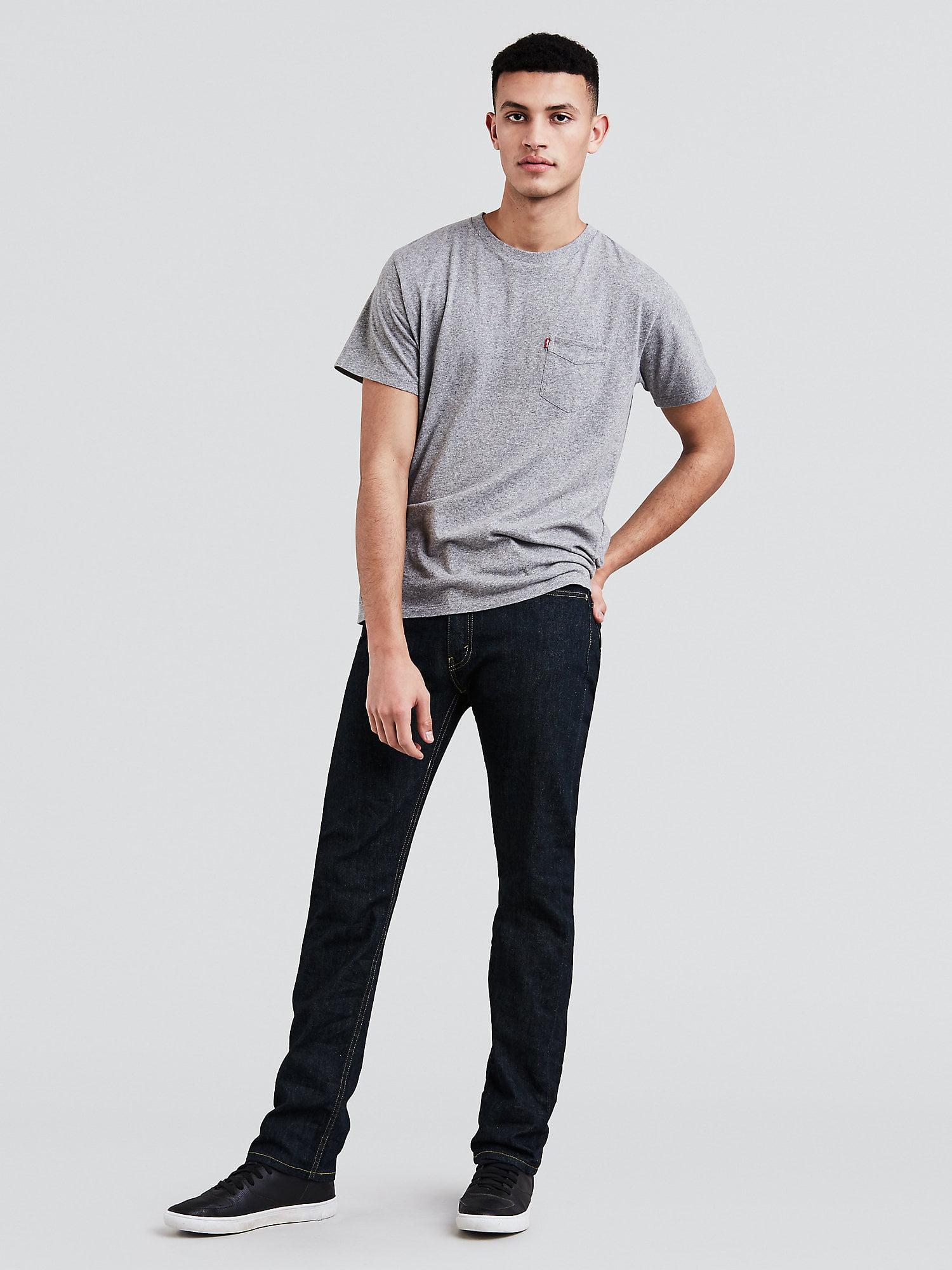 87d053c2 Levi's - Levi's Men's 513 Slim Straight Jeans - Walmart.com