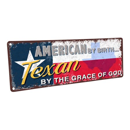 American by Birth, Texan by the Grace of God - Flag 4