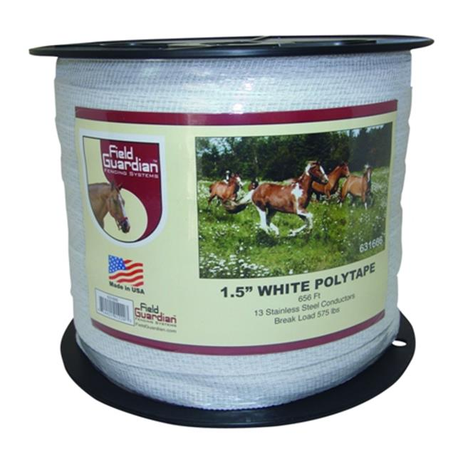 "Field Guardian 1.5"" White Polytape"