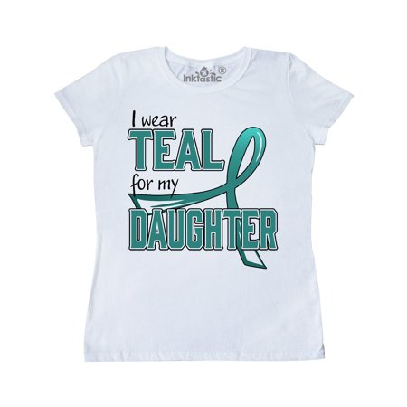 Farmers Daughter Costume (I Wear Teal for my Daughter -Ovarian Cancer Awareness Women's)