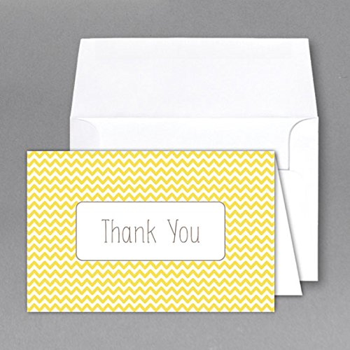 size of thank you cards