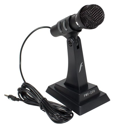 Frisby FMC-220 Desktop Standing Noise Canceling Stand Alone Plug & Play Microphone 12 Noise Cancellation Microphone