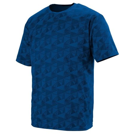 Augusta Sportswear 1795 Wicking Printed Polyester Short-Sleeve Muscle T-Shirt Men's