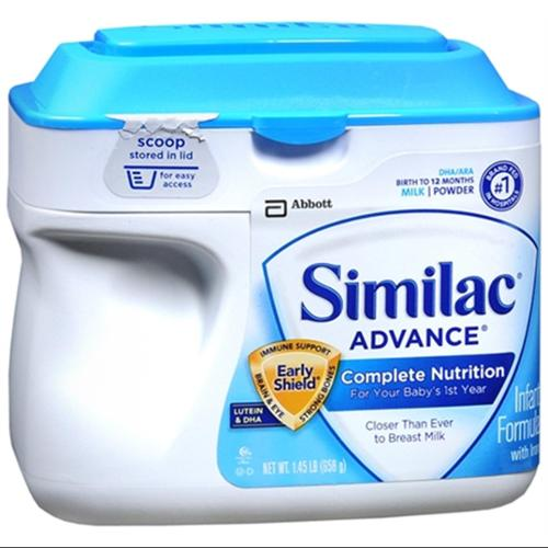 Similac Advance EarlyShield Powder With Iron 23.20 oz (Pack of 3)