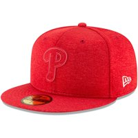 Product Image Men s New Era Heather Red Philadelphia Phillies 2018  Clubhouse Collection 59FIFTY Fitted Hat 4860c7c928af