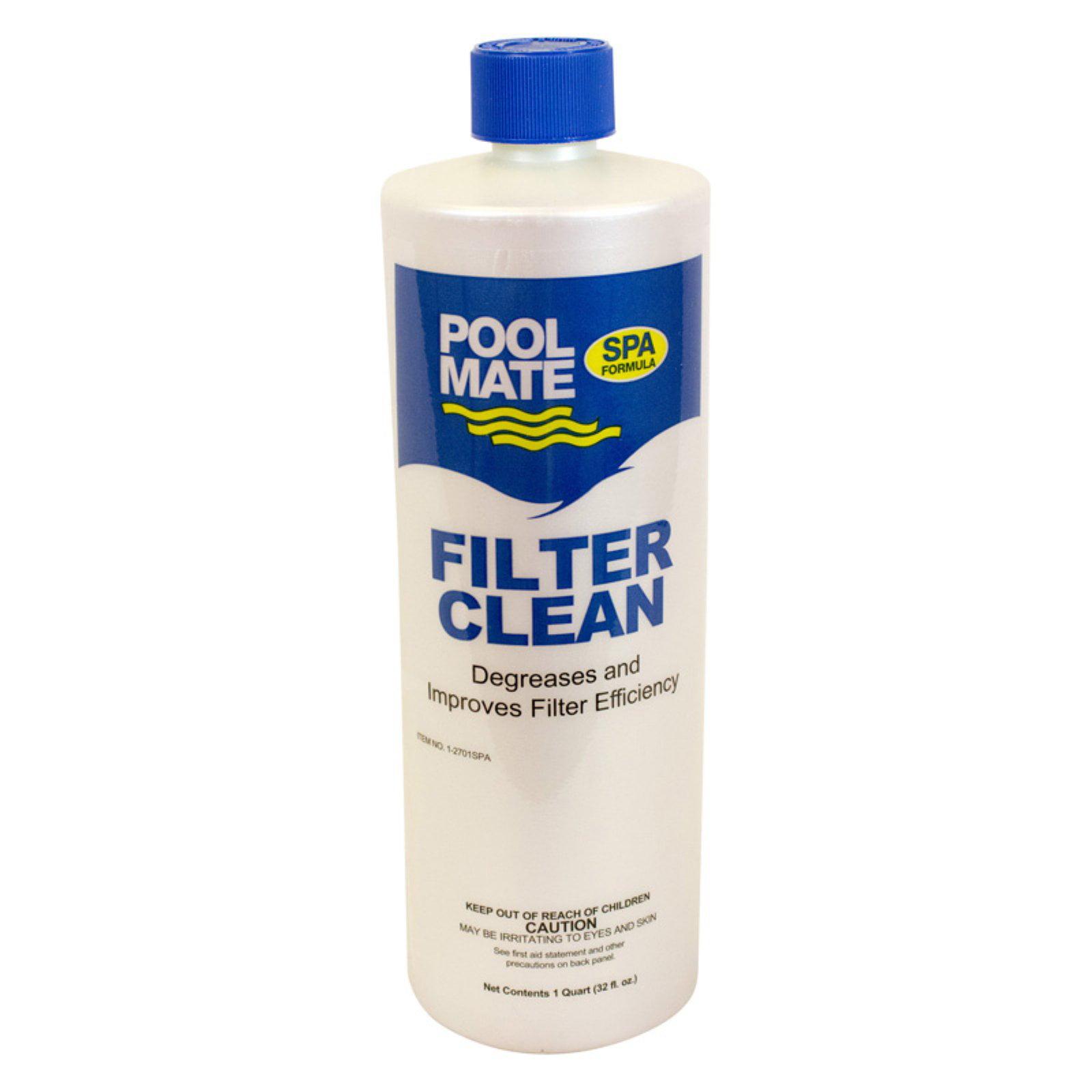 Pool Mate 1 qt. Filter Cleaner