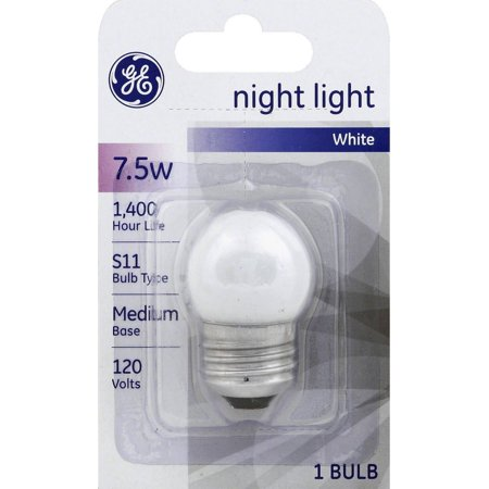GE Night Light Bulb 7-1/2 Watts 120 Volt 1 ea (Halloween Night Light Bulbs)