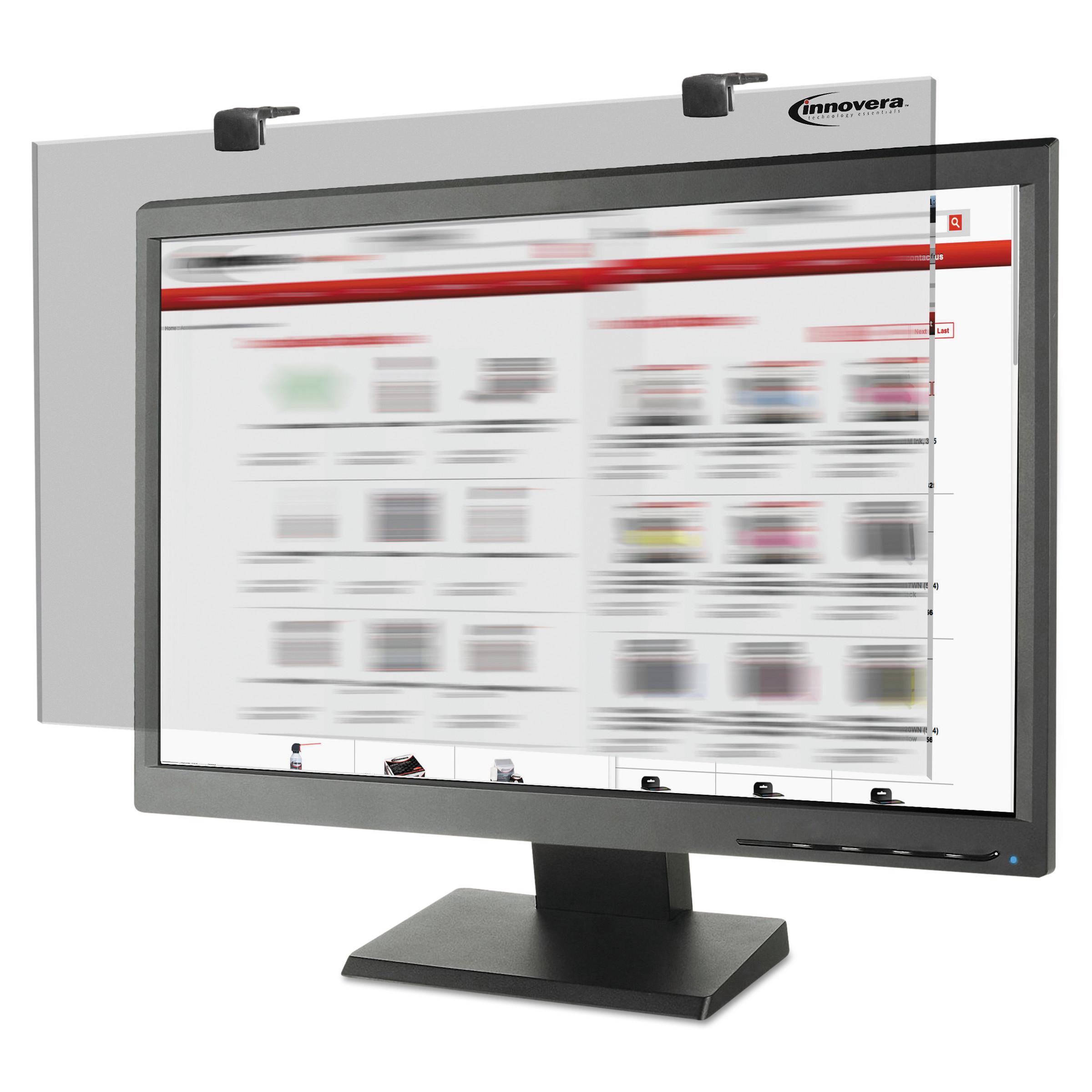"""Innovera Premium Antiglare Blur Privacy Monitor Filter for 21.5""""-22"""" Widescreen LCD"""