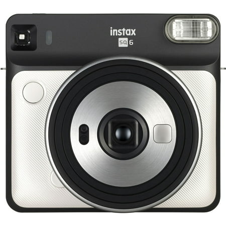 Fujifilm Instax Square SQ6 Instant Film Camera - Pearl White ()