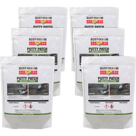 Patching Cement - Rust-Oleum Patching Material Cement-Based Moldable Repair 3 lb 6/CT GY 291995CT