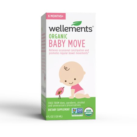 Wellements Baby Baby Move Prune Concentrate with Prebiotics, 4 fl