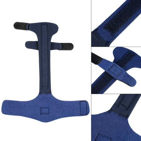 Garosa Adjustable Finger Brace, Adjustable Finger Splint Metacarpal Fracture Healing Mallet Finger Correcting Support Brace - image 2 de 8