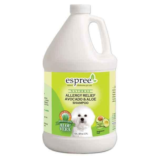 Allergy Relief Avocado & Aloe Vera Pet Grooming Shampoo ...