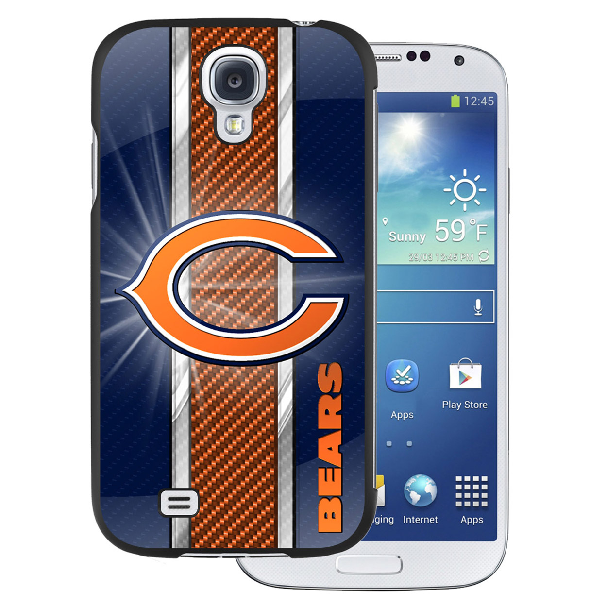 NFL Samsung Galaxy 4 Case - Chicago Bears