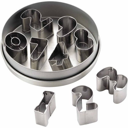 Cake Boss Decorating Tools 9-Piece Stainless Steel Number Fondant and Cookie Cutter - Cookie Decorating Ideas For Halloween