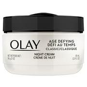 Olay Age Defying Classic Night Cream, Face Moisturizer, 2 oz