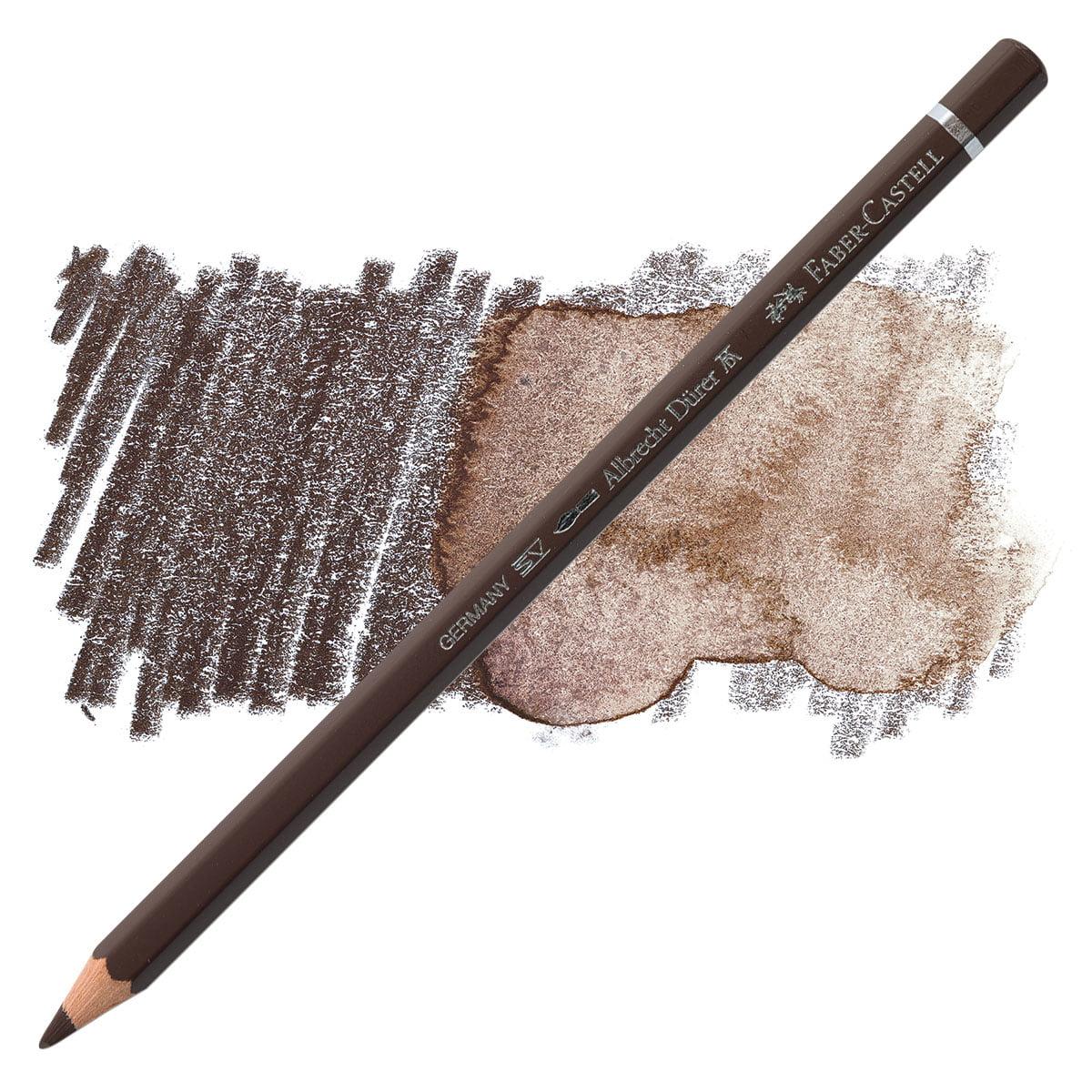 fabercastell albrecht durer watercolor pencil  walnut