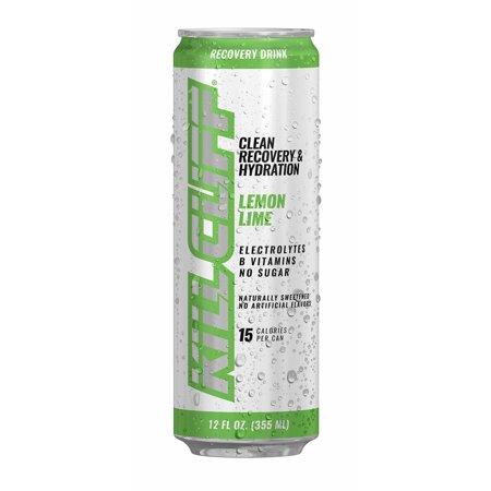 Kill Cliff Recover Lemon Lime, 12 Fl Oz, 4 Ct (Lemon Lime 5 Hour Energy)