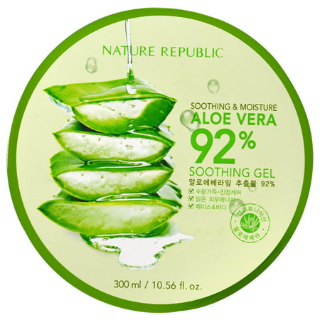 Nature Republic  Soothing   Moisture Aloe Vera 92  Soothing Gel  10 56 fl oz  300