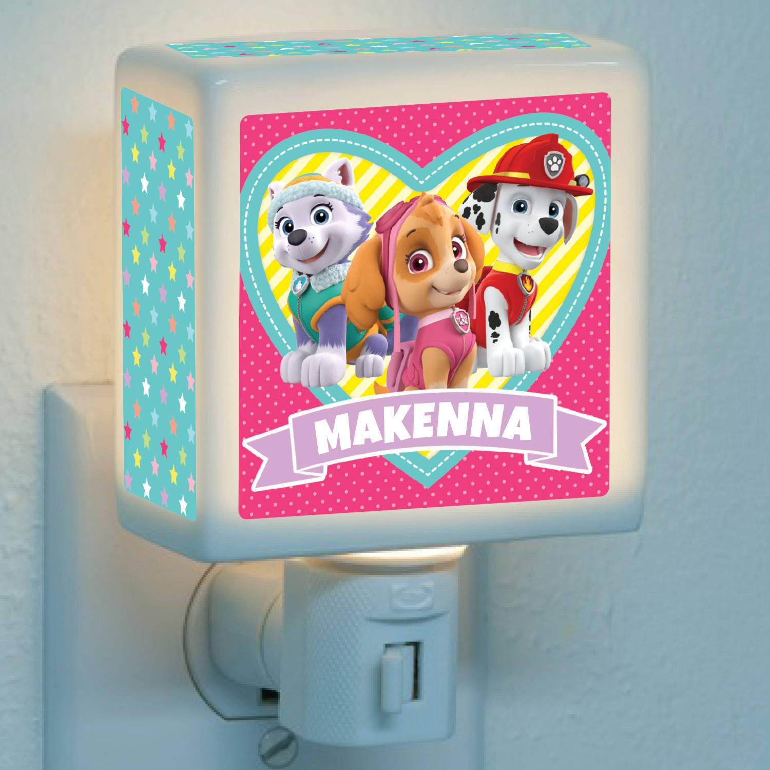 Personalized Paw Patrol Lovable Pups Nightlight by Generic