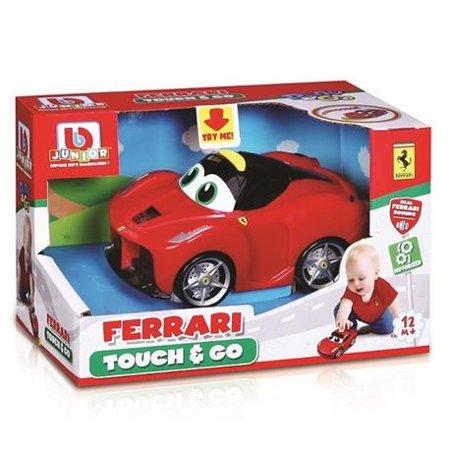 BB Junior Play & Go Ferrari Touch & Go, Assorted Cars, 1-Pack, Red (Ferrari 1)