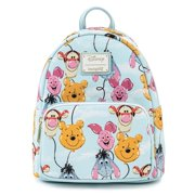 Loungefly Disney Winnie The Pooh Balloon Friends Licensed Mini Backpack Purse