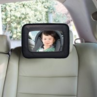 Dreambaby Backseat Mirror, Baby Car Mirror, Black