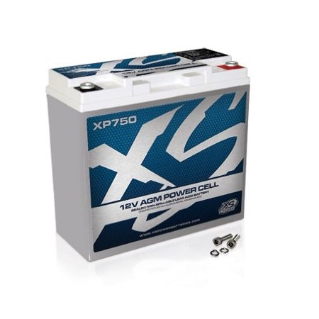Xs XP750 Power 12v Agm Battery Max Amps 750a