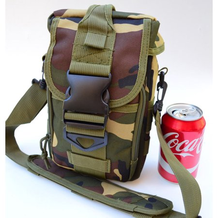 Trauma First Aid Bag Utility MOLLE Medical Bug Out Bag Pouch (Woodland