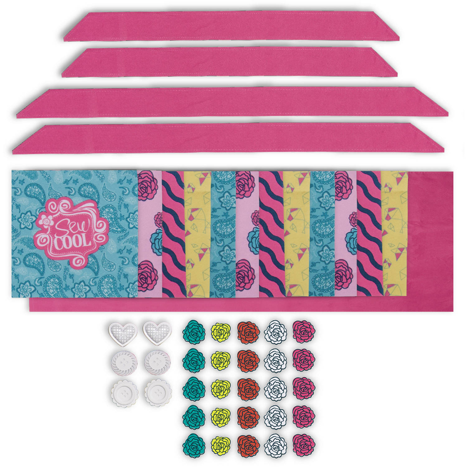Sew Cool Cozy Quilt Fabric Kit