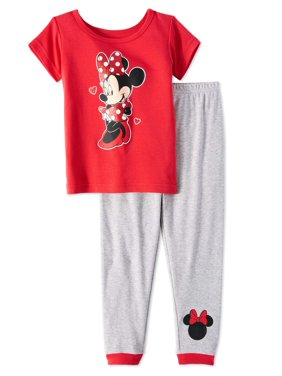 Product Image Minnie Mouse Baby Toddler Girls  Short Sleeve Tight Fit  Pajamas f6d045c57