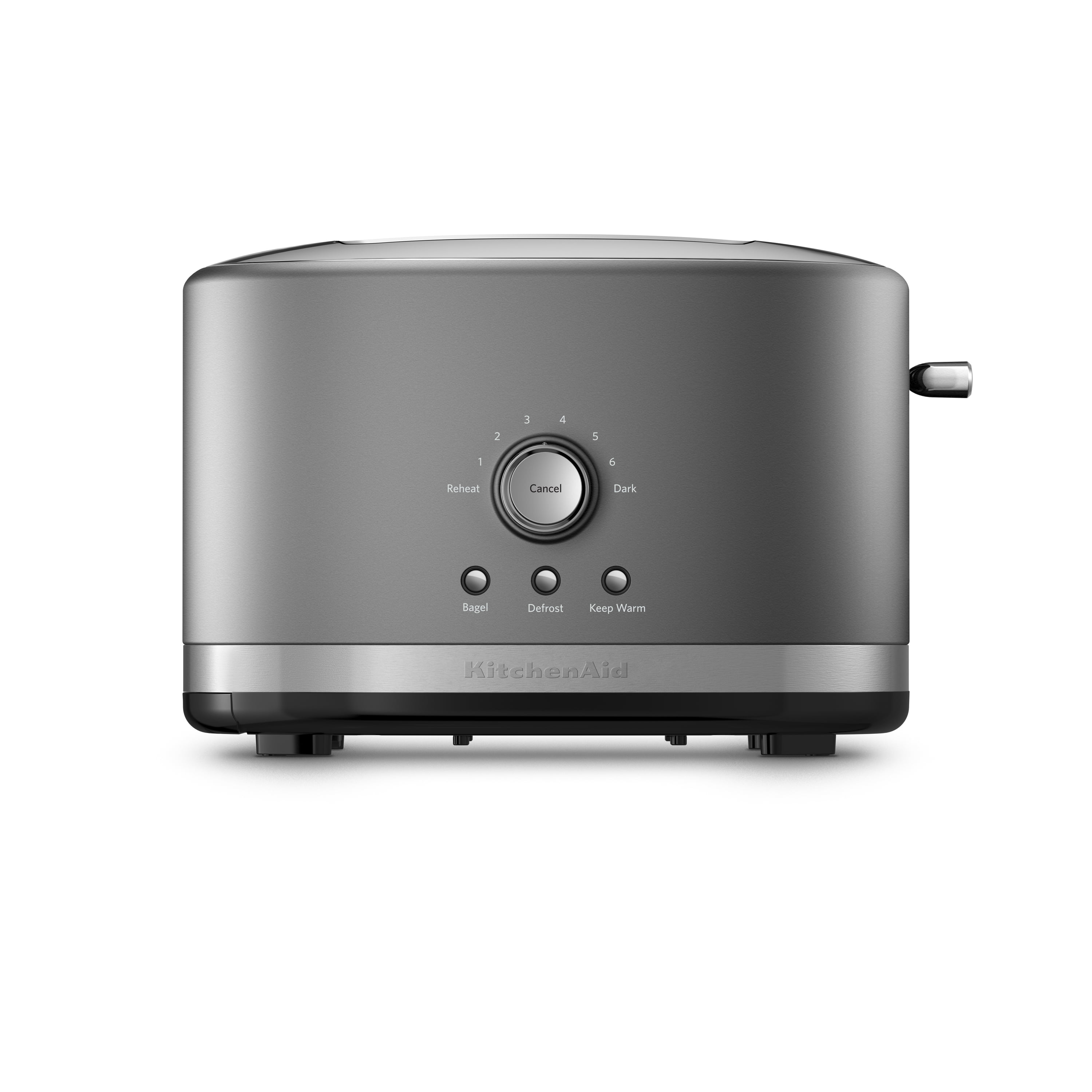 KitchenAid® 2-Slice Toaster with High Lift Lever Countour Silver (KMT2116CU)