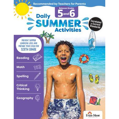 Daily Summer Activities : Moving from 5th Grade to 6th Grade, Grades - Halloween Activities For Grade 3 And 4