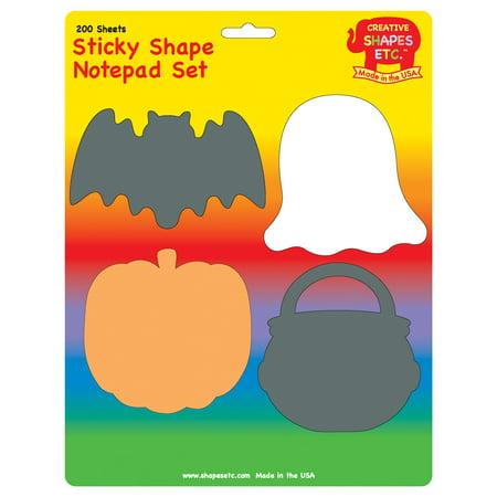 Sticky Notepad Set - Halloween