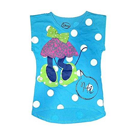 [P] Disney Girls' Minnie Mouse Headless Polka Dots Tee Shirt (MD) (Disney Girls Dresses)