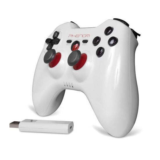 DreamGear DGPS3-3847 White Phenom Wireless Controller 2.4ghz