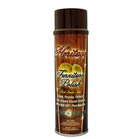 Heritage Furniture Polish A quality blend of cleaners - Case of