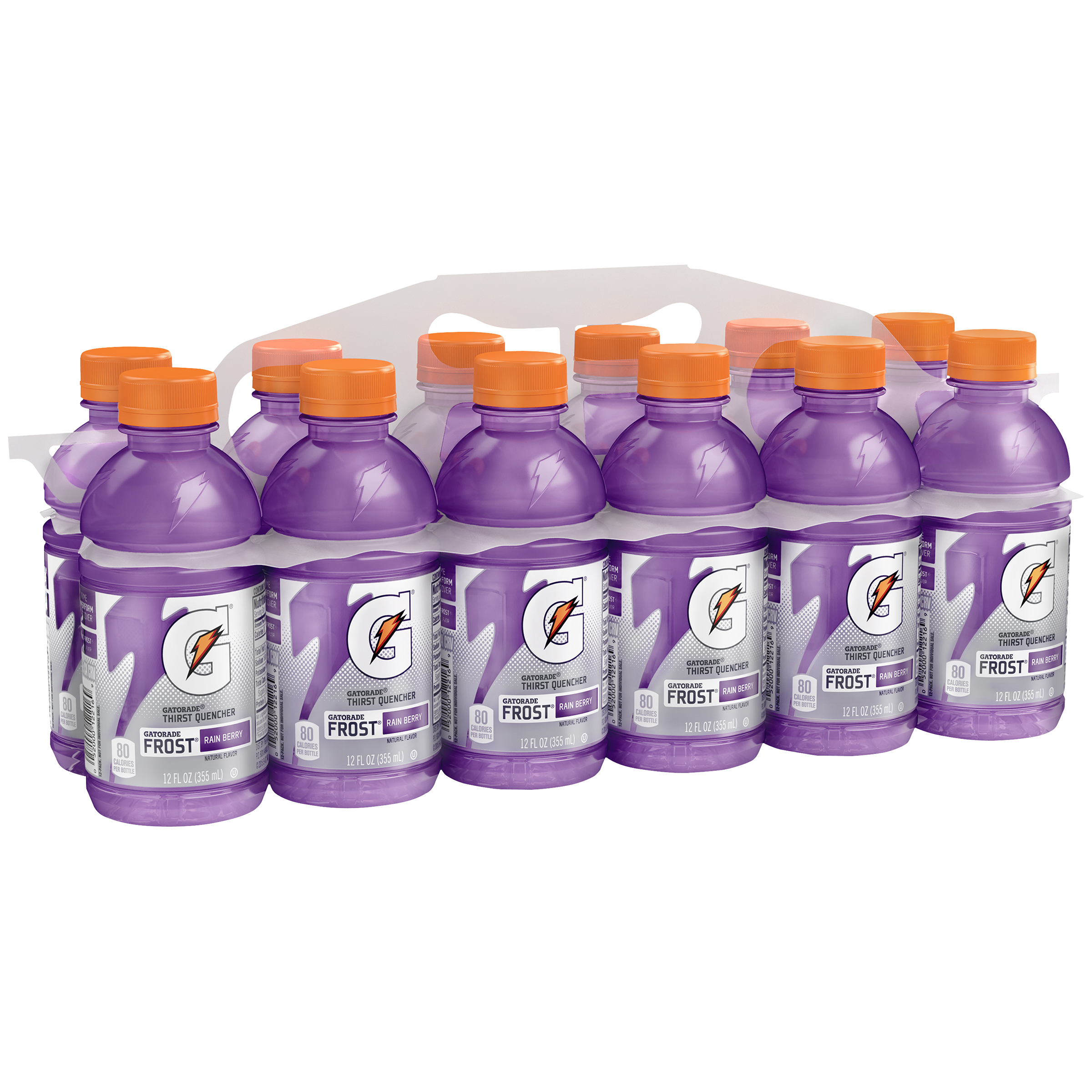 Gatorade Thirst Quencher Frost Rain Berry Drink, 12 Fl. Oz., 12 Count