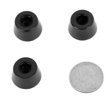 110pcs Rubber Feet Bumper Floor Protector Printer Desk Leg Pads, D20x16xH12mm - image 4 de 7
