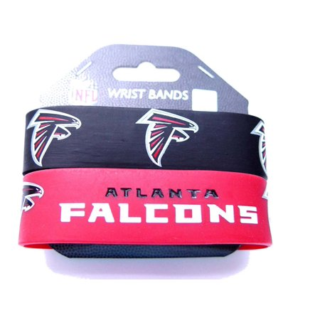 NFL Atlanta Falcons Sports Team Logo Rubber Wrist Band - Set of 2 - image 1 of 1