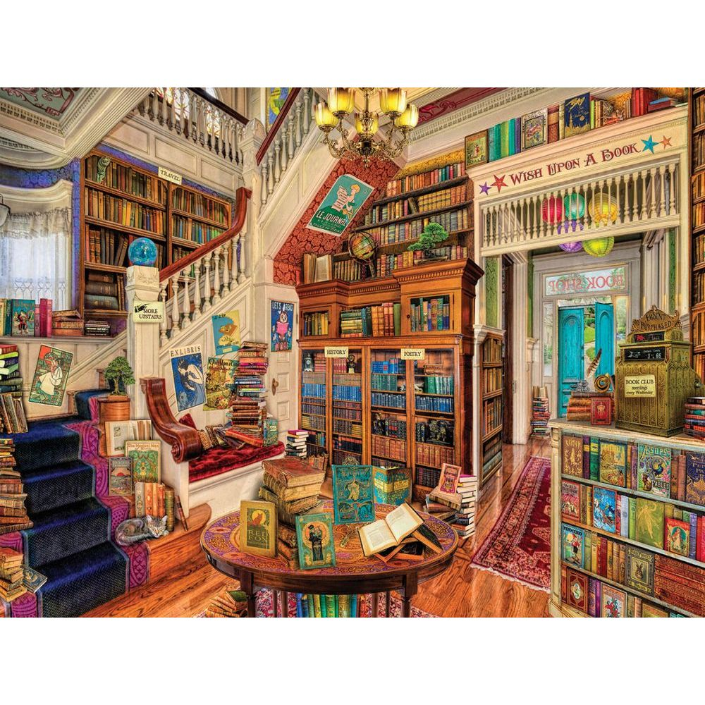 Readers Paradise 1000,  1,000 Piece Puzzles by White Mountain Puzzles