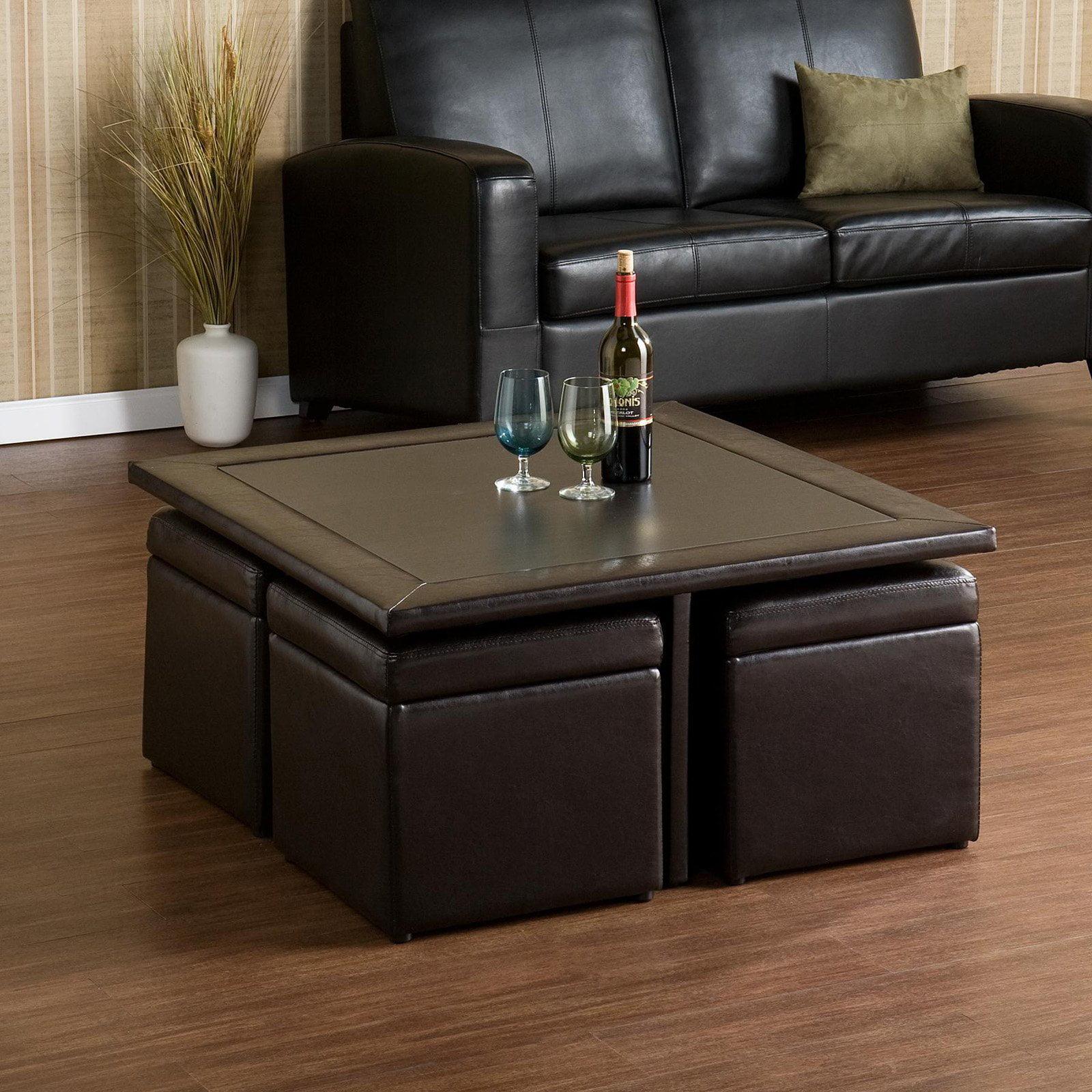Southern Enterprises Nylo Storage Cube Table Set Walmartcom
