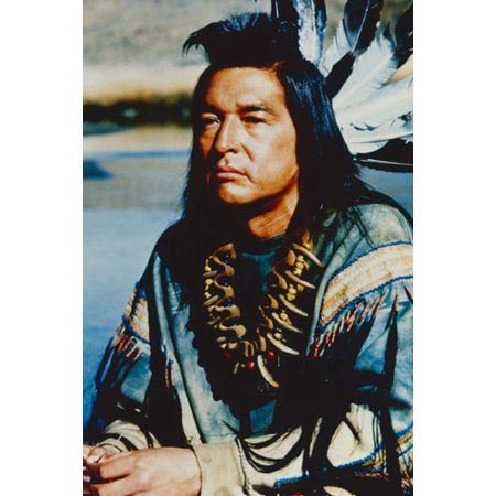 Graham Greene Dances With Wolves Indian Costume 24x36 Poster (Indain Costume)
