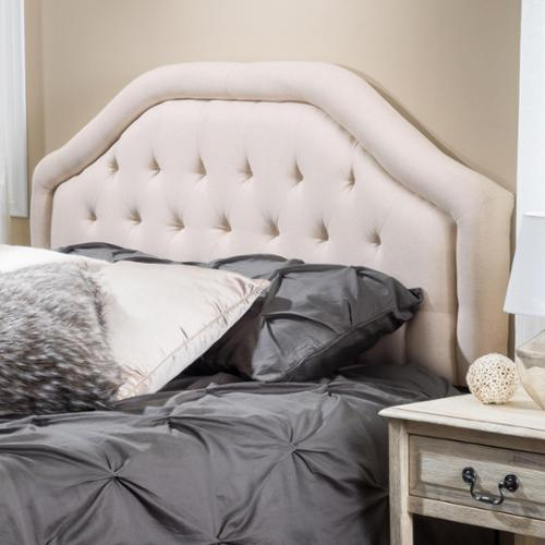 christopher knight home angelica adjustable king california king tufted fabric headboard by
