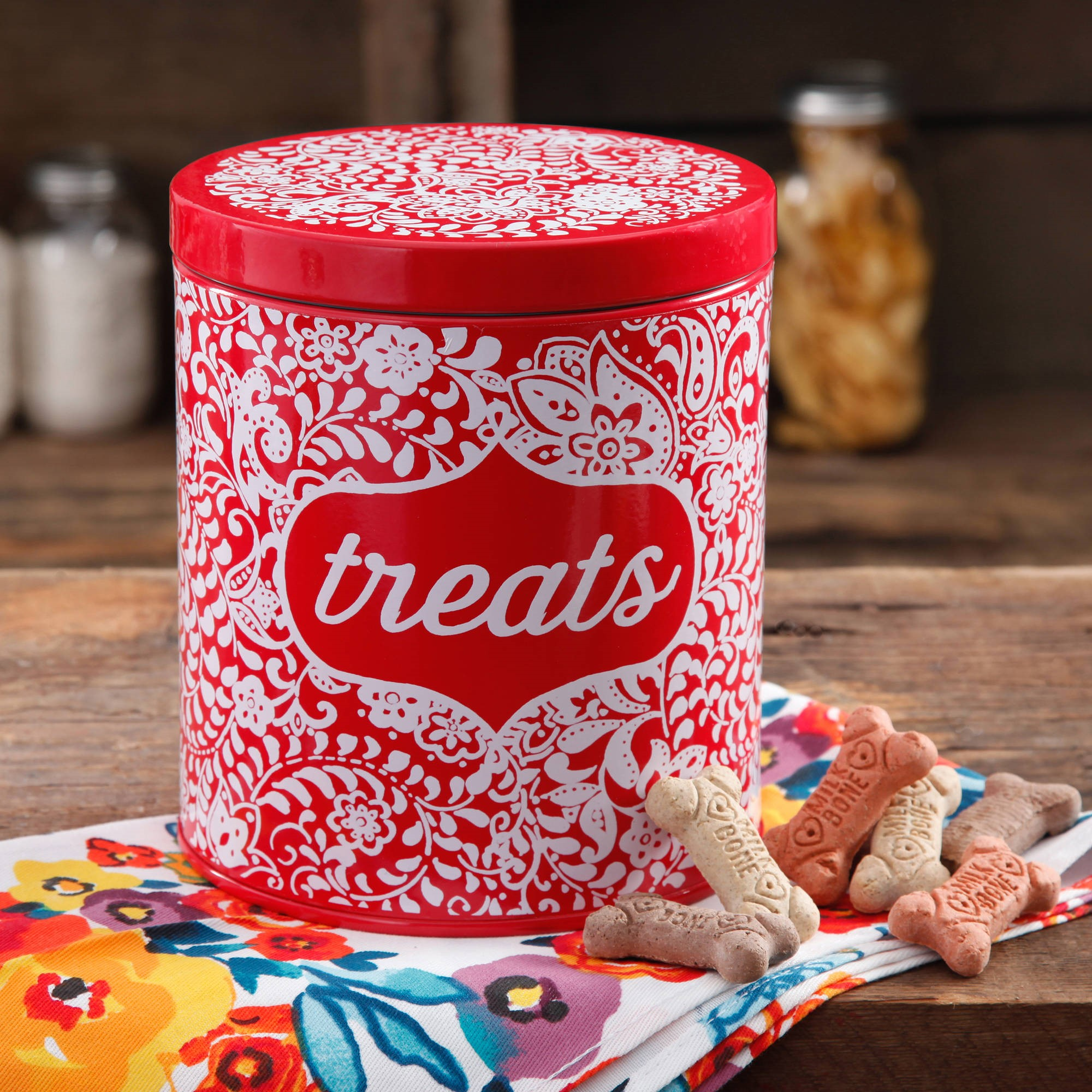 The Pioneer Woman Flea Market Traveling Vines Treat Jar