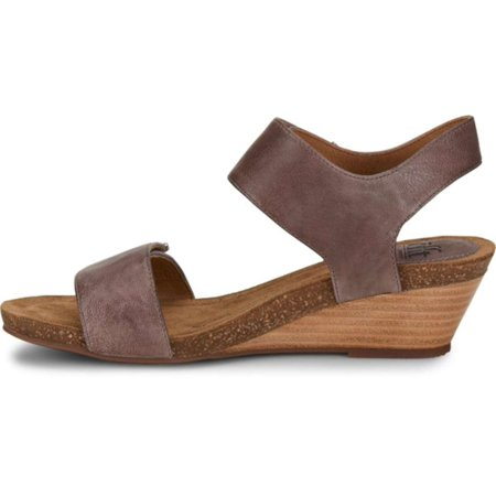 f5e967360b1 Sofft - Sofft Womens Verdi Leather Open Toe Casual Slingback Sandals -  Walmart.com