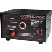 Pyramid Audio Ps15kx 10-amp 13.8v Power Supply With Cigarette Lighter Adapter